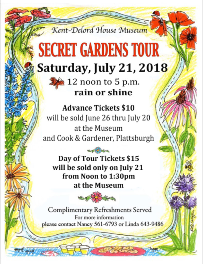 Garden Club's Secret Garden Tour