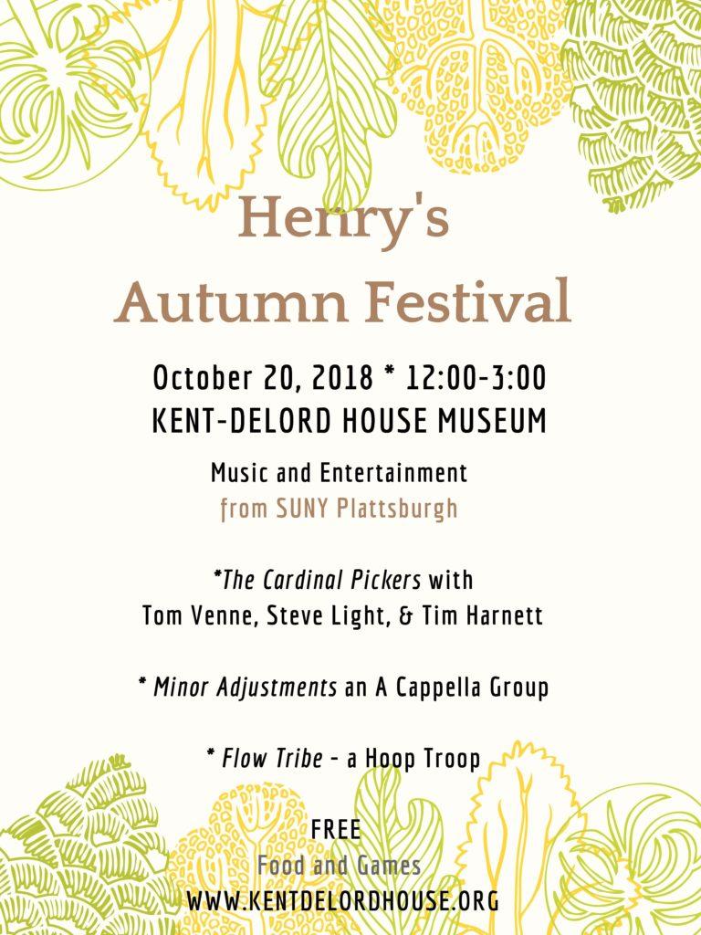 Henry's Autumn Festival