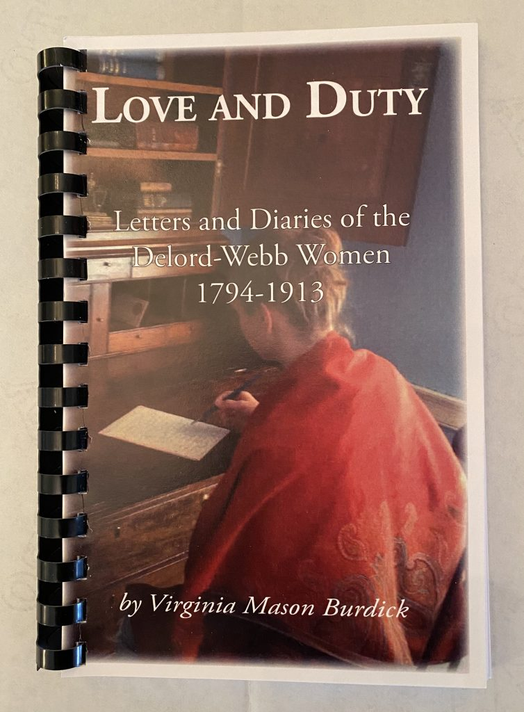 "Cover view of ""Love and Duty"" book"